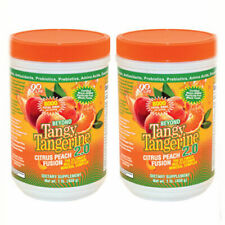 Youngevity Beyond Tangy Tangerine 2.0 Peach Fusion - 2 pack (Scratch n Dent)