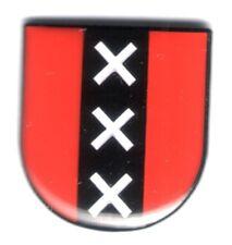 Amsterdam Wappen Pin Coat of Arms  Badge Niederlande Holland