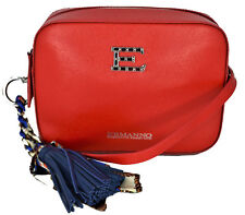 Bag Handbag Shoulder Strap Red Woman Ermanno Scervino Linea New Bri