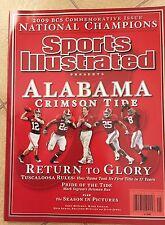 Sports Illustrated Commemorative 2009 ALABAMA CRIMSON TIDE