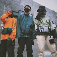 FT- Fashion Unisex Hip Hop Oxford Streetwear Tactical Sport Chest Rig Bag Waist