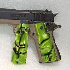 Browning 1911 .22 or .380 Gun/Pistol Grips, Kirinite, Green Toxic*