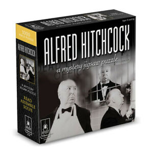 Alfred Hitchcock Classic Mystery Jigsaw Puzzle 8 x 8