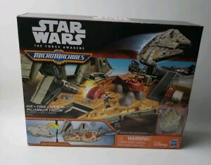 Star Wars: The Force Awakens MicroMachines Millennium Falcon Playset - BRAND NEW