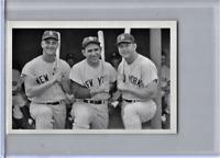 Roger Maris Yogi Berra Mickey Mantle New Aged Mini RePrint Baseball Card