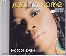 Sabrina Starke-Foolish Promo cd single