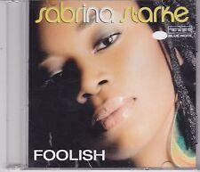 Sabrina Starke-Foolish Promo cd single