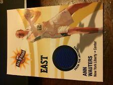 2006 WNBA Relic Ann Wauters Blue Swatch Rare