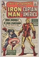 Tales of Suspense #59 November 1964 G/VG Captain America series begins