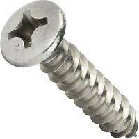 Sq Drive Stainless Steel №2 250 Pcs self Tapping Metal Screws self Tapping Screws for Metal #8 x 5//8 Truss Head Sheet Metal Screws
