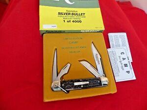 Remington USA bone R4243 SB lockback Guide silver bullet camp scout knife MIB ld