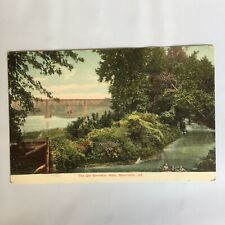 The Old Swimming Hole Monticallo Indiana Unposted Postcard