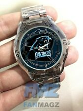 Carolina Panthers NFL Stainless Steel Analogue Men's Watch Gift
