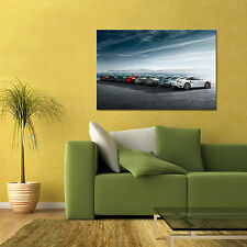 911 HISTORY TIMELINE GENERATIONS LARGE AUTOMOTIVE HD POSTER 24x36in