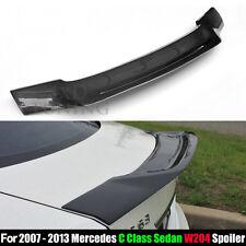 Carbon Fiber Rear Spoiler for Mercedes W204 C Class Sedan C63 AMG 2007 - 2013