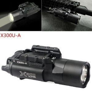 Ultra Bright X300U LED Torch Light Flashlight 500Lum For 20mm Rail Mount Pistol