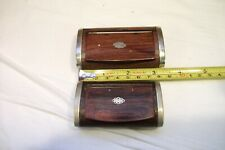Antique snuff boxes wooden