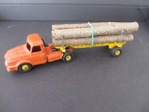 1/43 DINKY TOYS tracteur WILLEME avec remorque bois FARDIER n°36