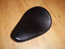 CUSTOM LEATHER CHOPPER SINGLE SOLO SEAT HARLEY BOBBER CHOP - SEAT6