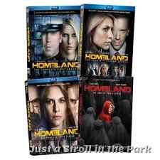 Homeland: Claire Danes TV Series Complete Seasons 1 2 3 4 Box/BluRay Set(s) NEW!
