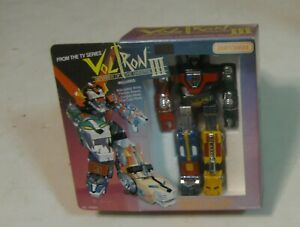 1984 MATCHBOX VOLTRON III DEFENDER OF THE UNIVERSE LION SPACE ROBOT MINT IN BOX