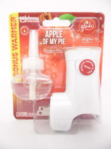 Glade Plugins Scented Oil Refill - Apple of My Pie - 1 Refill & 1 Oil Warmer