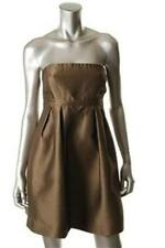 Tibi Bronze Formal Cocktail Dress Size 10 NWT $440
