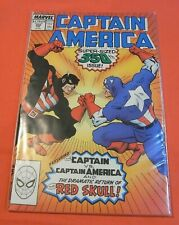 """CAPTAIN AMERICA #350 -""""Seeing Red,""""  68-page giant (1968 1st series)"""