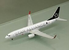 Witty Wings 1/400 Turkish Airlines 737-800 TC-JFI Star Alliance metal miniature