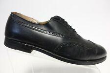 ALDEN 928 Black Sz 10 B/D Men Wingtip Dress Shoe Oxfords