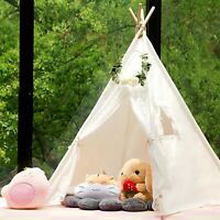 Samincom Classic Kids Play Lace Tent Childrens Play House Tipi Kids - Lace