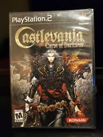 Castlevania Curse of Darkness Sony PlayStation 2, 2005 Brand New Factory Sealed