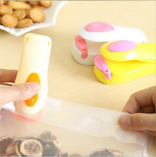 Portable Mini Heat Sealing Machine Impulse Sealer Package Tools Random Color New