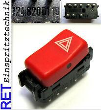 INTERRUTTORE warnblinkschalter 1248200110 MERCEDES BENZ W 124