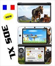 SKIN STICKER AUTOCOLLANT DECO POUR NINTENDO 3DS XL - 3DSXL REF 41 CHEVAL