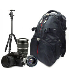 SLR DSLR Camera Bag Backpack Water/Shock-Resistant Case For Sony Canon Nikon AU