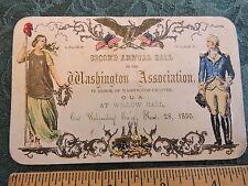 RARE 1855 Order United Americans OUA Anti-Catholic Nativist Mechanics Civil War