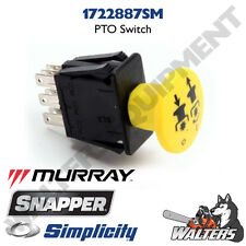 Genuine PTO Switch 1722887 for Simplicity Snapper Murray (NOT AFTERMARKET)