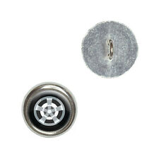 Tire - Metal Craft Sewing Novelty Buttons Set of 4