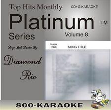 Top Hits Monthly Platinum THMPL08 Diamond Rio 14 Song Karaoke CD+G Bubba Hyde