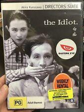 The Idiot ex-rental region 4 DVD (1951 Akira Kurosawa Japanese movie) rare