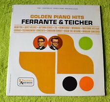 "Ferrante & Teicher / Golden Piano Hits / 1963 United Artists Records 12""LP"