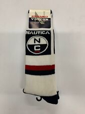 Vintage 90's Natica Competion Mens Graphic Crew Socks NEW 10-13