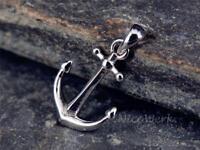 Silberanhänger Anker Boot Segeln Damen Anhänger 925 Silber Kettenanhänger
