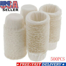 500pcs Paper Coffee Filters Cups Replacement K-Cup Filters For Keurig K-Cup Pods