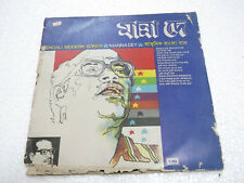 BENGALI MODERN SONGS MANNA DEY 1981 RARE LP RECORD vinyl india orig BENGALI g+