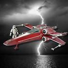 Vintage Star Wars X Wing Red Five Luke Skywalker Jedi Black Series Custom