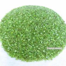 1/2lb Natural Green Peridot Tumbled Crystal Olivine Bulk Stone Reiki Healing