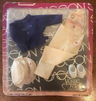 Vogue Ginny Sasson doll clothes Fashions ASST. 30-1755/A. Ivory Overalls 1981