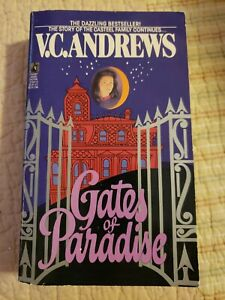VC Andrews Vtg 1989 Gates of Paradise #4 Casteel Series Keyhole Paperback Book
